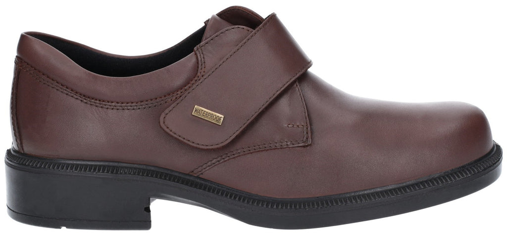 Cleeve Touch Fastening Shoe Brown