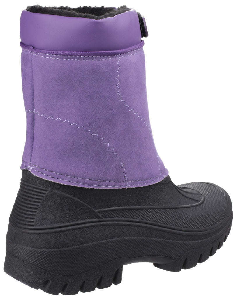 Venture Waterproof Winter Boot Purple