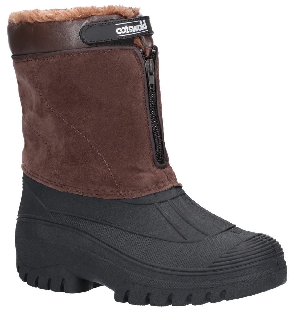 Venture Waterproof Winter Boot Brown