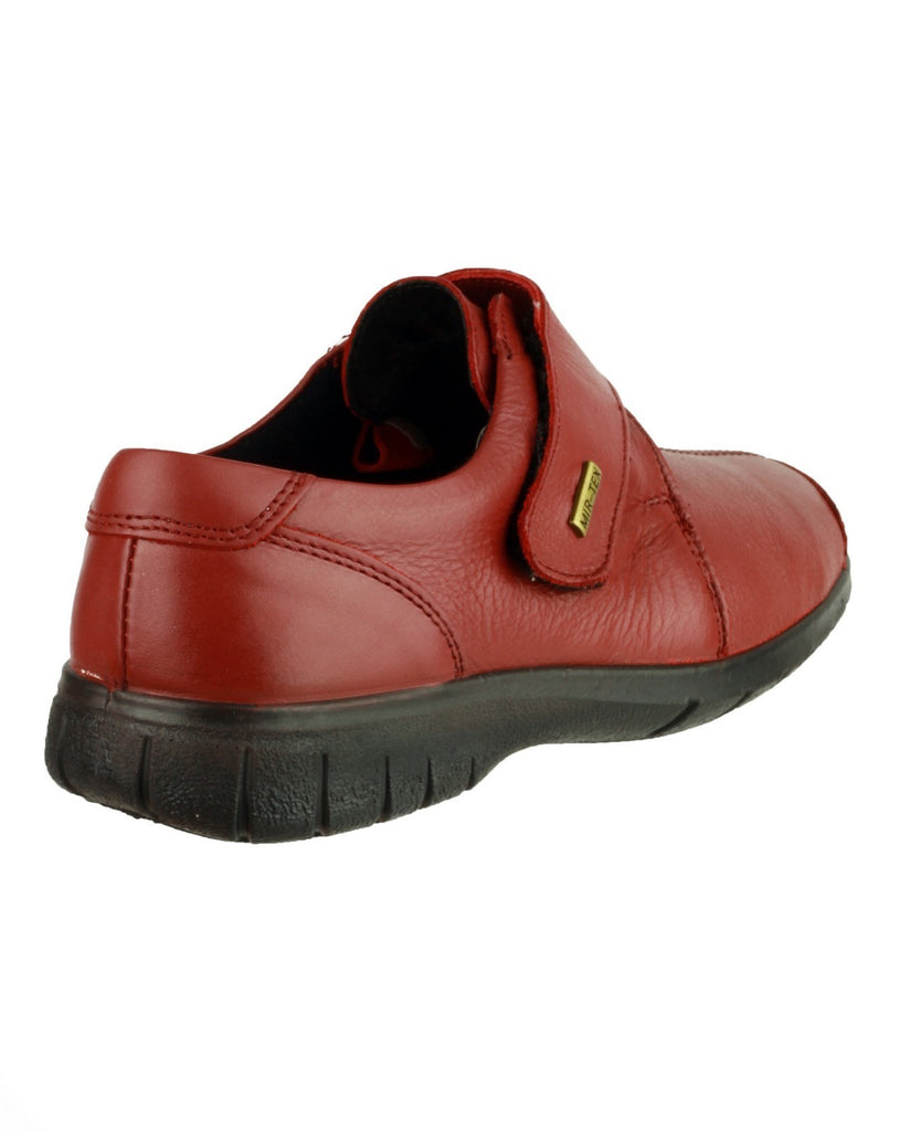 Cranham Touch Fastening Shoe Red