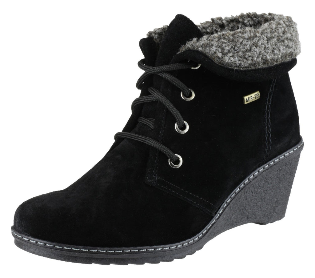 Batsford Ladies Waterproof Boot Black