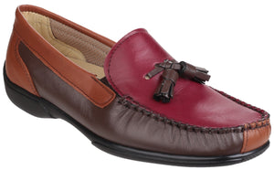 Biddlestone Loafer Chestnut, Tan & Wine