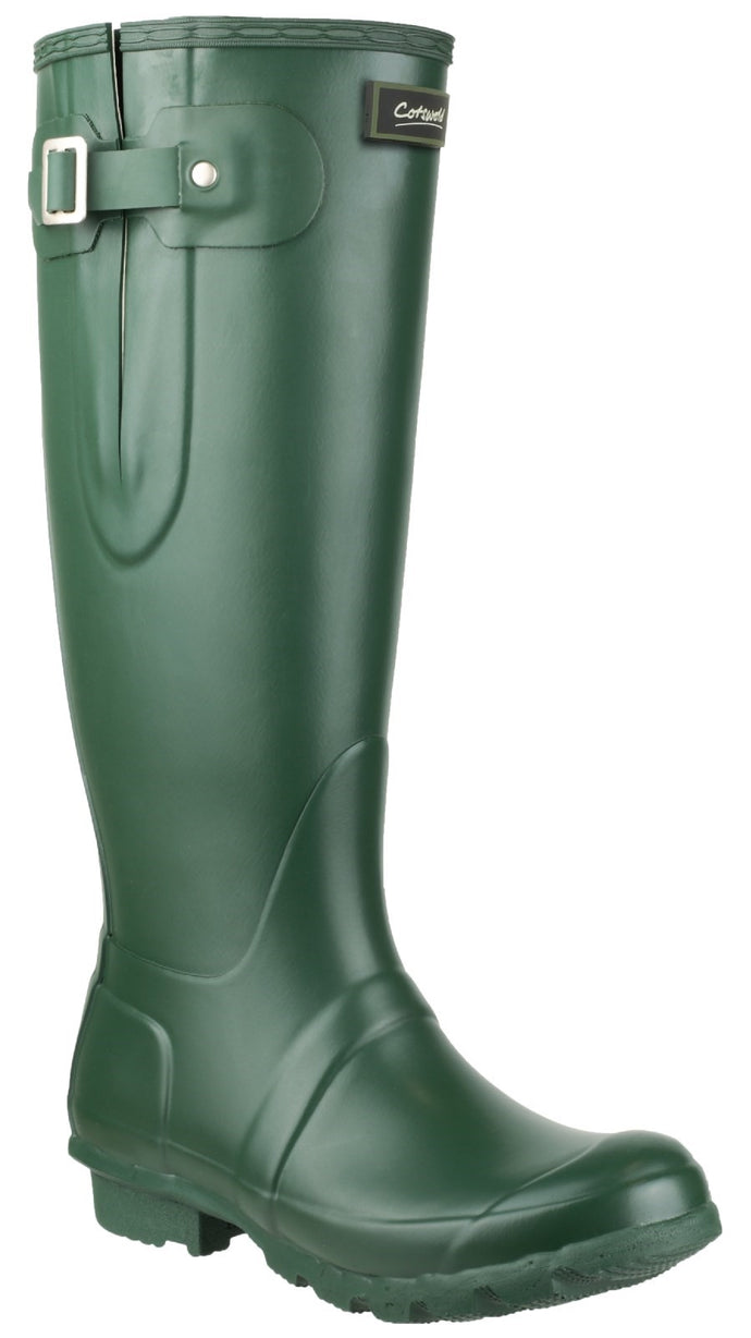 Green  Windsor Tall Wellington Boot