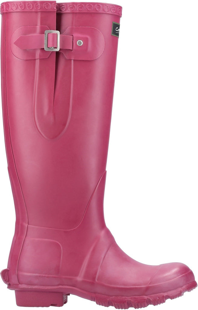 Windsor Tall Wellington Boot Berry