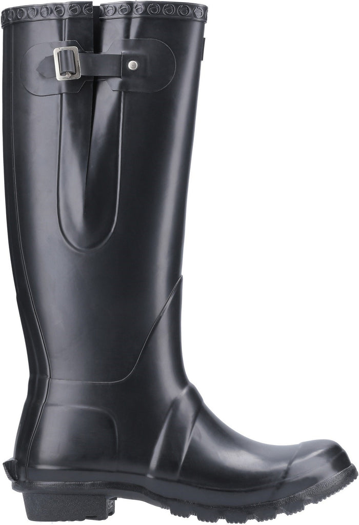 Windsor Tall Wellington Boot Black