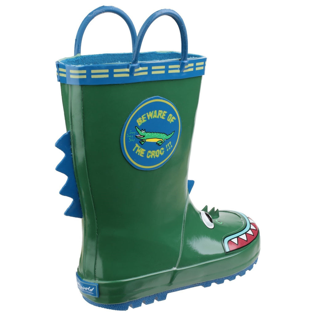 Crocodile Puddle Waterproof Pull On Boot