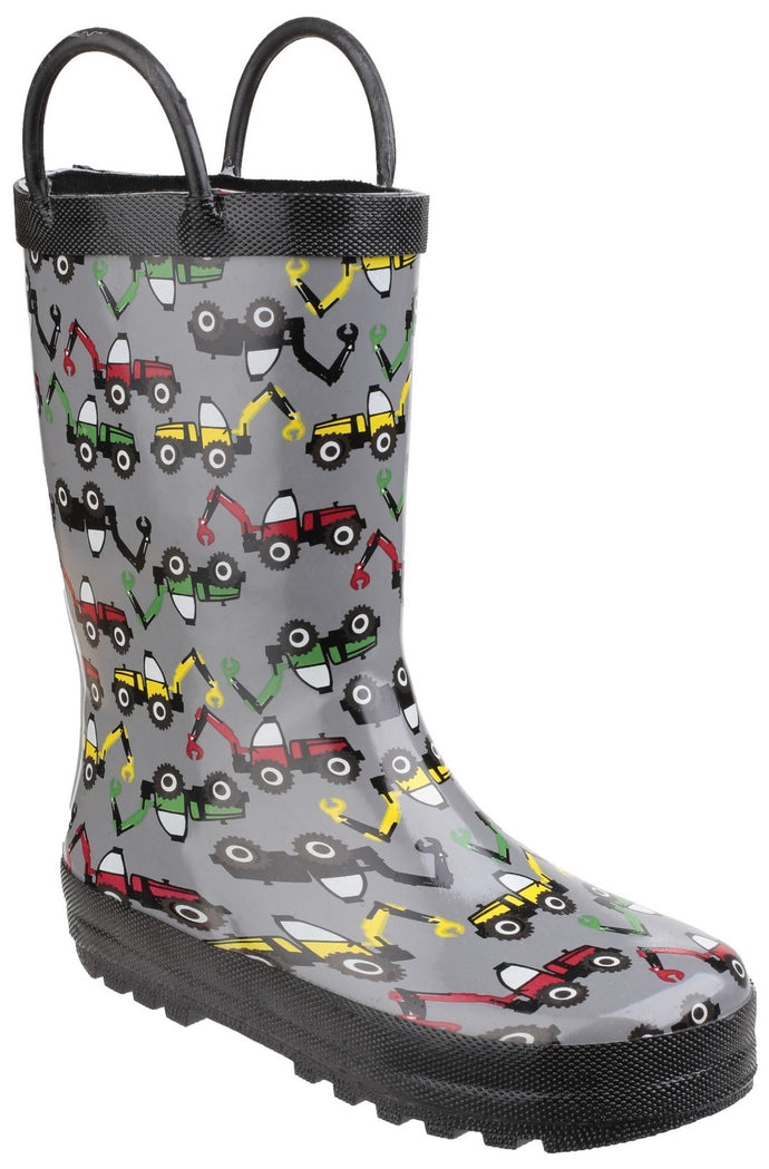 Digger Puddle Waterproof Pull On Boot