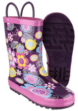 Flower Puddle Waterproof Pull On Boot