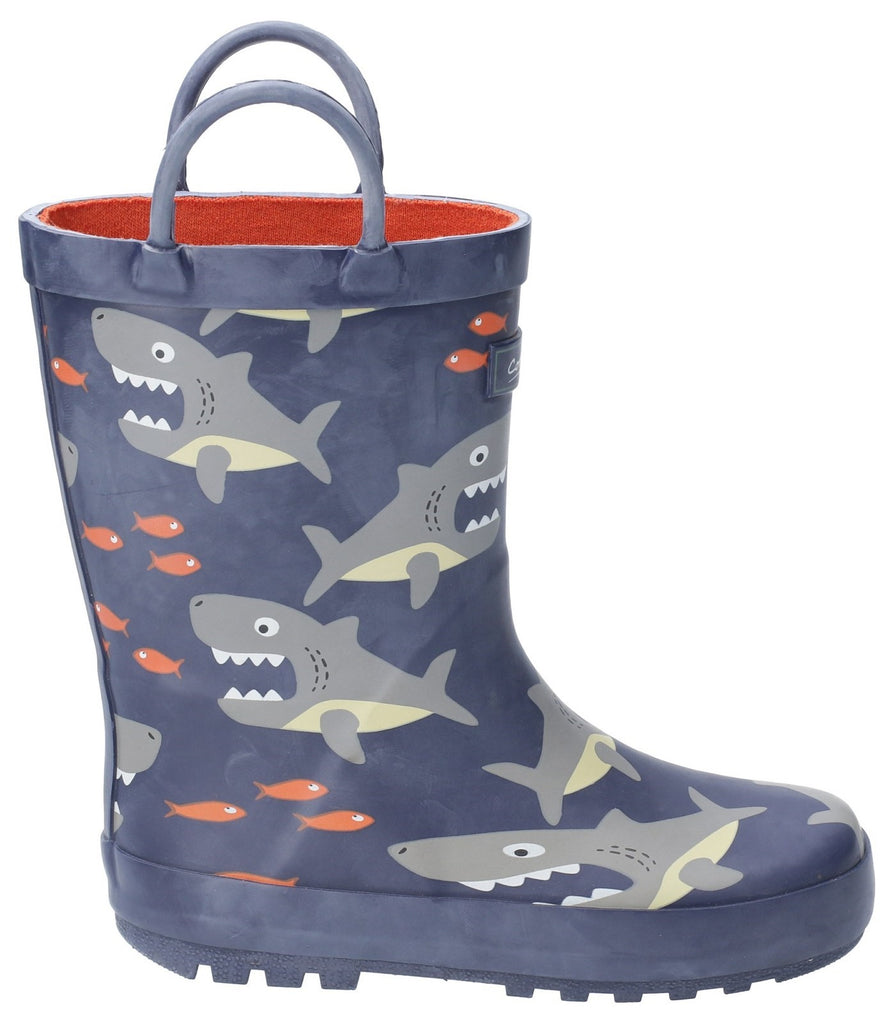 Puddle Waterproof Pull On Boot Shark