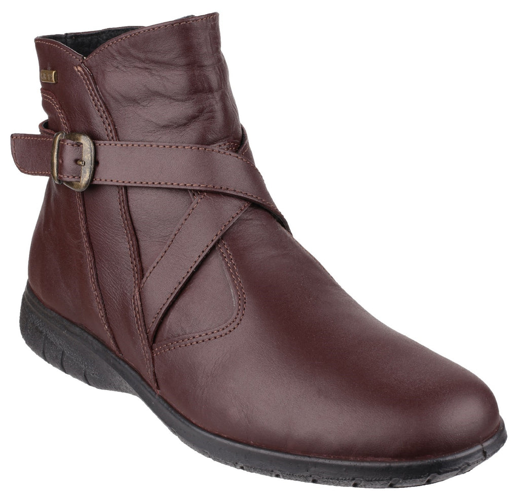 Shipton Leather Ankle Boot Brown
