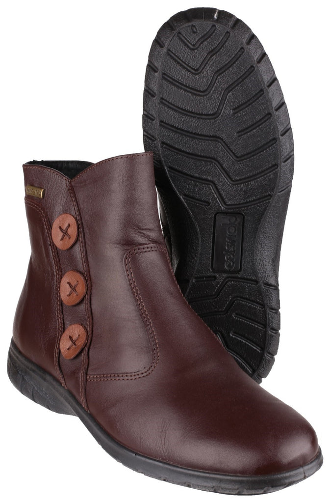 Dowdswell Leather Boot Chocolate
