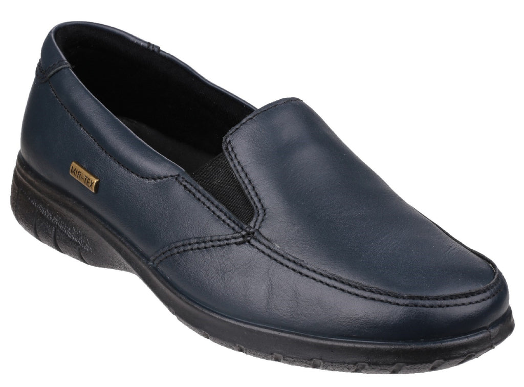 Withington Leather Shoe Navy