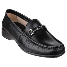 Black Barrington Slip on Loafer Shoe