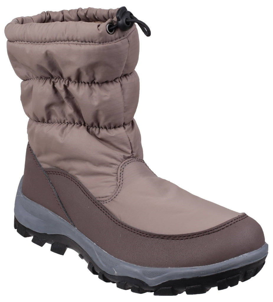 Polar Waterproof Snow Boot Brown