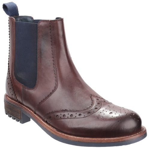 Brown Cirencester Chelsea Brogue