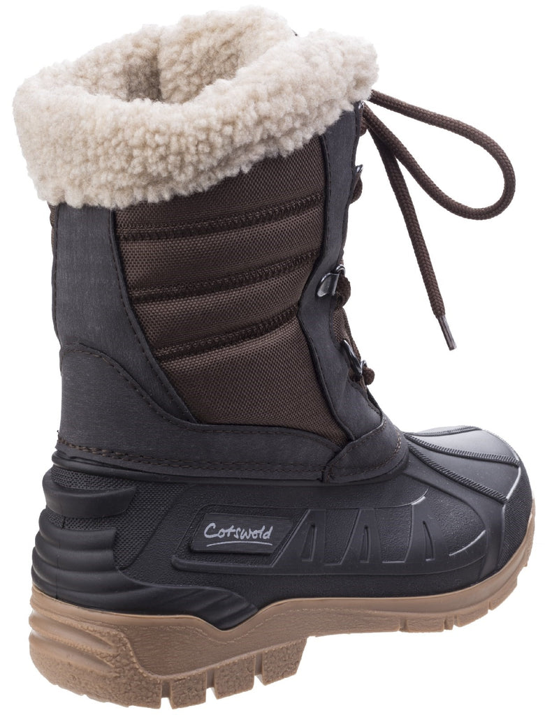 Coset Weather Boot Brown