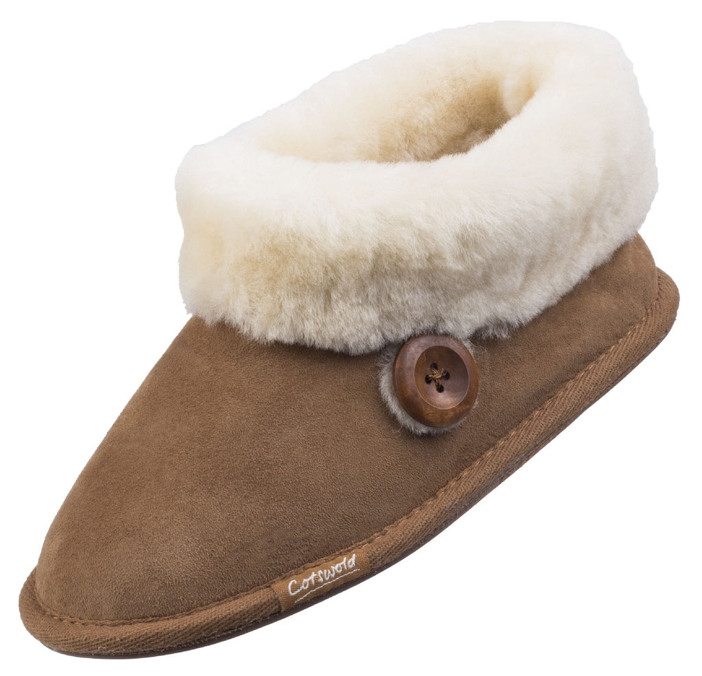 Wotton Sheepskin Bootie Chesnutt