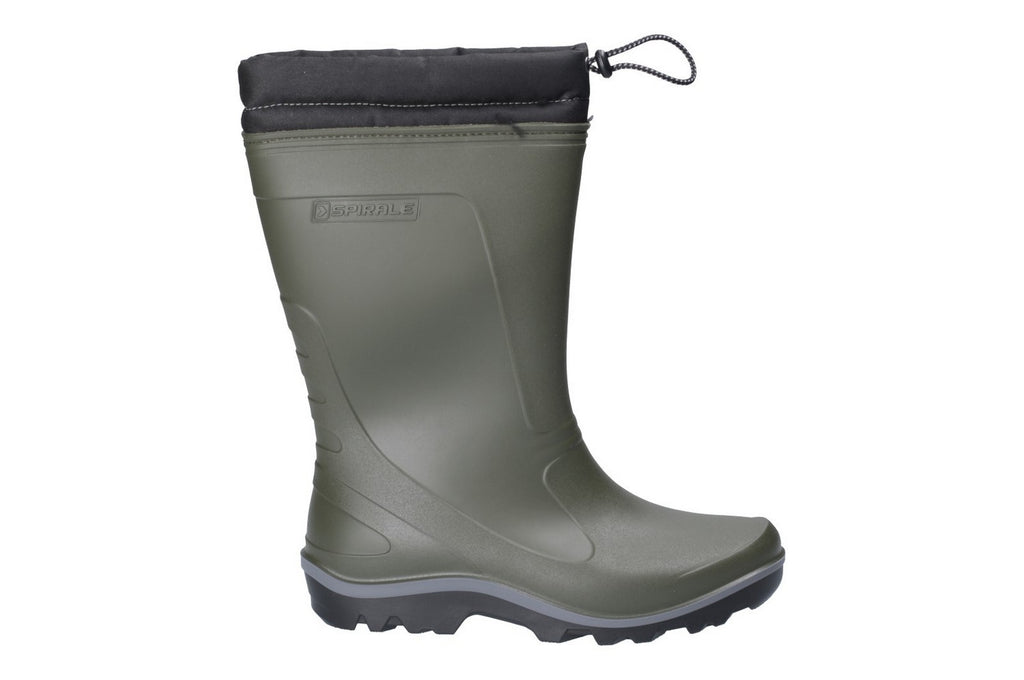 Minchinhampton Lined Wellington Boot Green