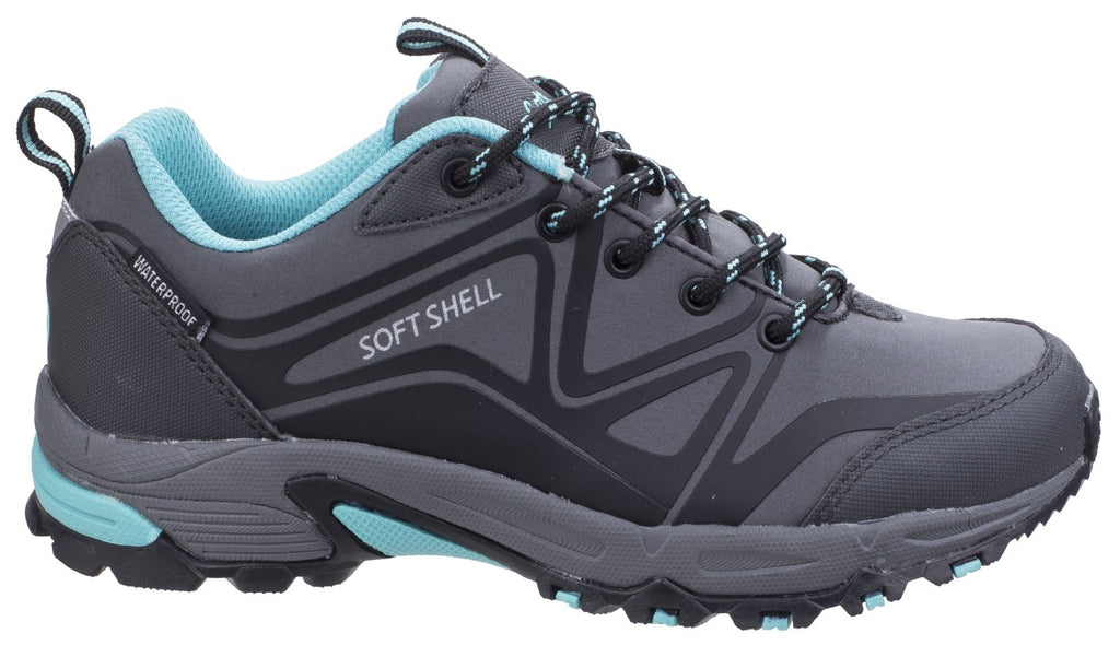 Abbeydale Low Hiker Grey/Black/Aqua