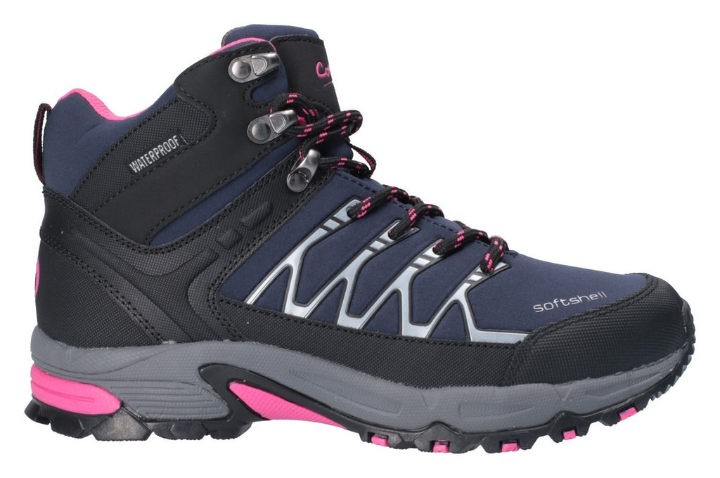 Abbeydale Mid Hiker Navy/Black/Fuchsia