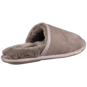 Grey Charlbury Slip On Slipper
