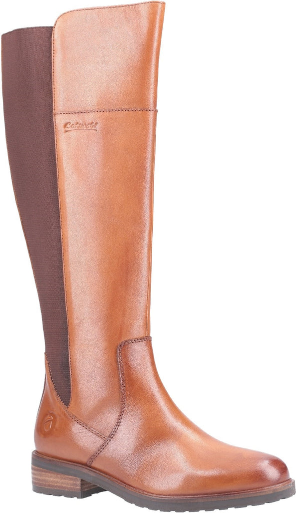 Montpellier Long Boot Tan
