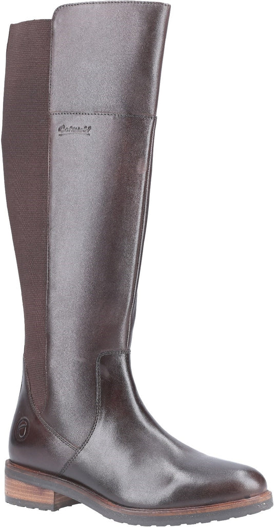 Montpellier Long Boot Brown