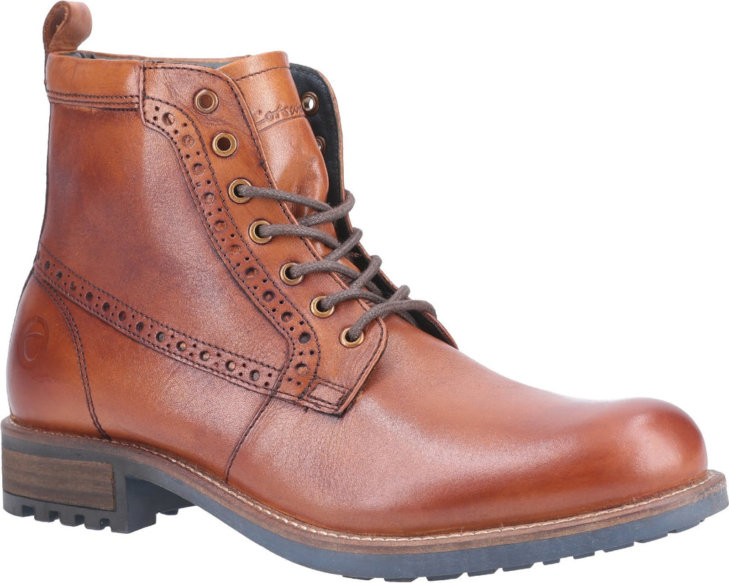 Dauntsey Lace up Boot Tan