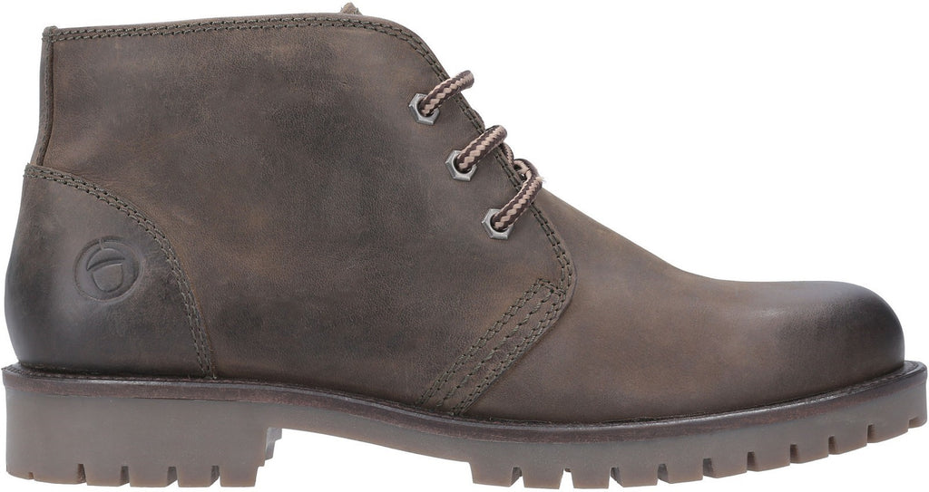 Stroud Lace Up Shoe Boot Khaki