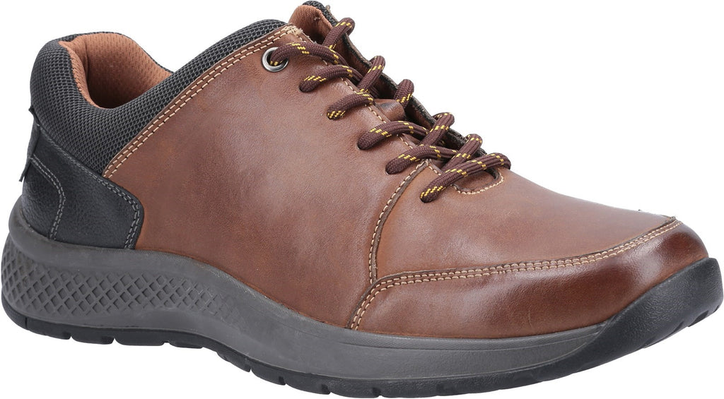 Rollright Lace Up Casual Shoe Tan