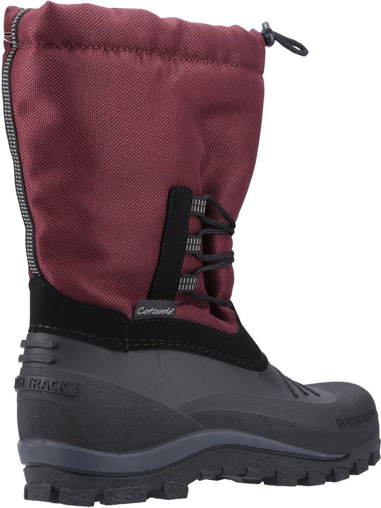 Teddington Weather Boot Burgundy