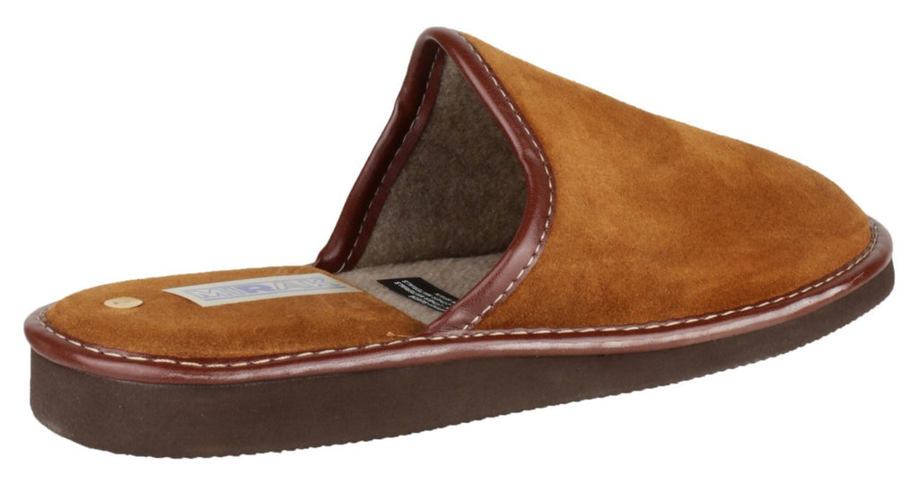 Reg Lightweight Mule Slipper Tan
