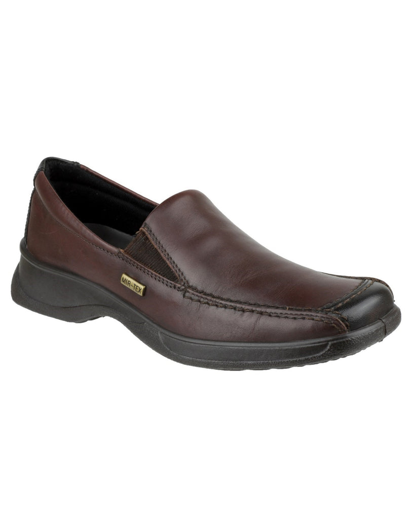 Hazelton Waterproof Shoe Brown/Black