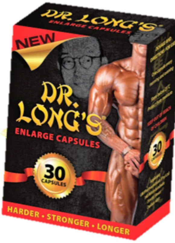 Dr Long Enlarge Capsules - National Male Clinic