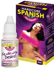 Hard Core Spanish Sex Drops - National Male Clinic