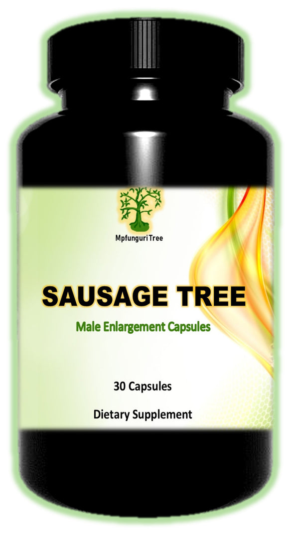 Mpfunguri /  Sausage Tree Enlargement Capsules Buy 2 get 3rd FREE - National Male Clinic