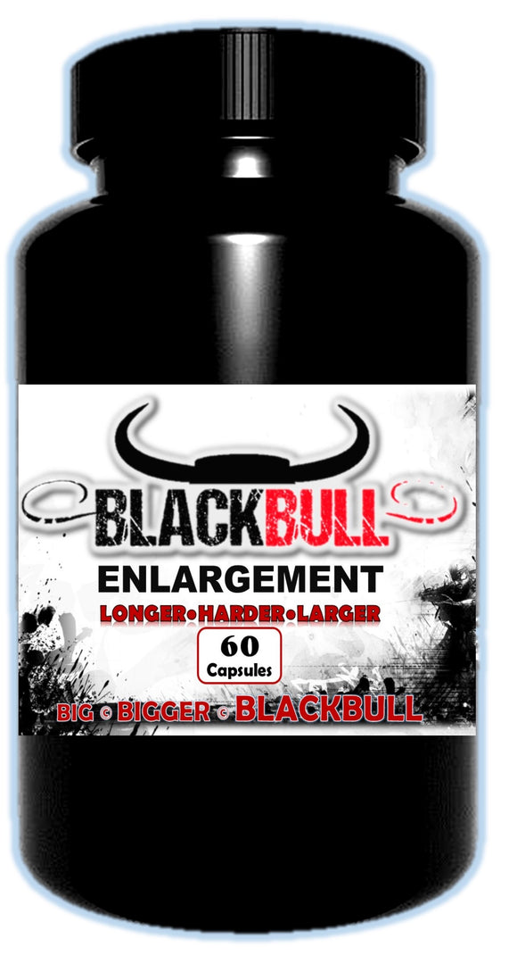 Black Bull Enlargement Capsules - National Male Clinic
