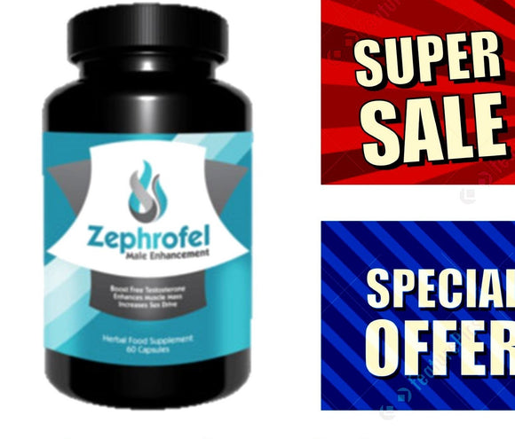 -50% Zephrofel only till 28th While Stocks last - National Male Clinic