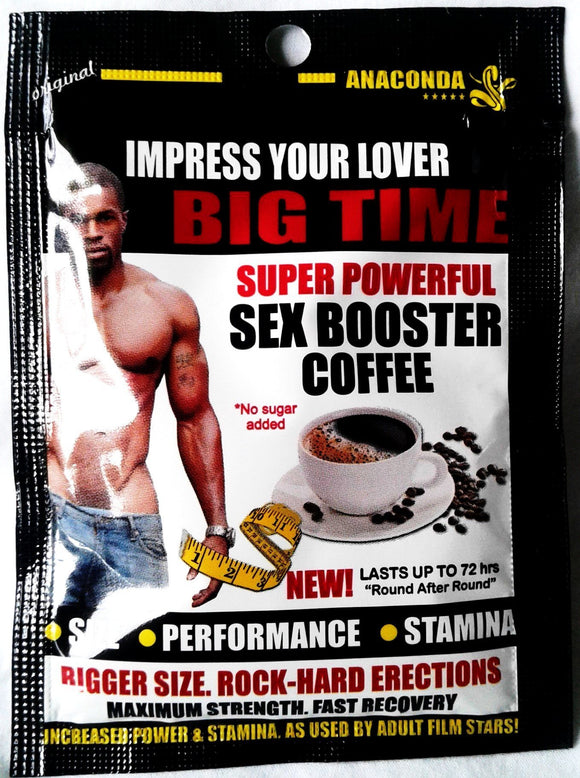Sex Booster Coffee - National Male Clinic
