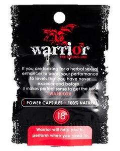 Warrior Capsules on Wholesale - National Male Clinic