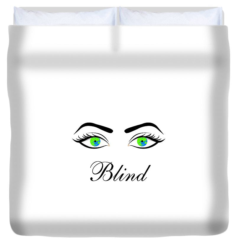 Blind - Duvet Cover