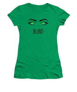 Blind - Women's T-Shirt (Athletic Fit)