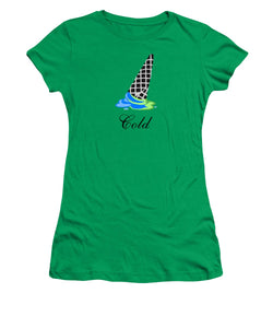 Cold - Women's T-Shirt (Athletic Fit)