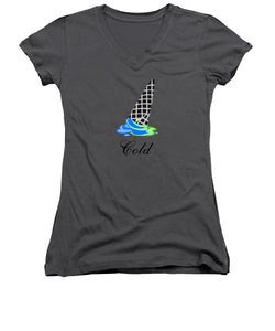 Cold - Women's V-Neck (Athletic Fit)