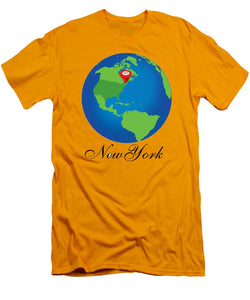 New York - Men's T-Shirt (Athletic Fit)