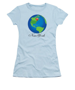 New York - Women's T-Shirt (Athletic Fit)