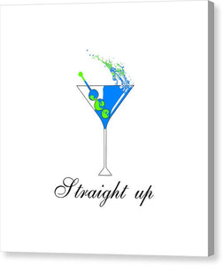 Straight Up - Canvas Print
