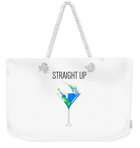 Straight Up - Weekender Tote Bag