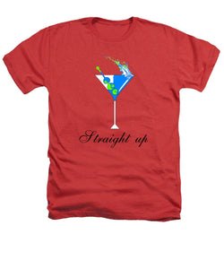 Straight Up - Heathers T-Shirt