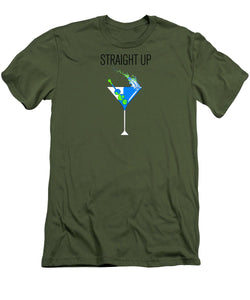 Straight Up - Men's T-Shirt (Athletic Fit)